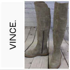 Vince Coleton suede over the knee boots like new
